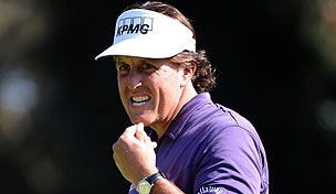 Phil Mickelson in the 2012 Northern Trust Open