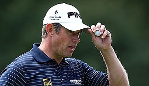 Lee Westwood at the 2012 BMW Championsip