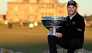 Branden Grace in the 2012 Alfred Dunhill Links Championship final round