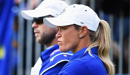 Suzann Pettersen Changes Tune Apologizes For Solheim Cup Incident Golf Channel