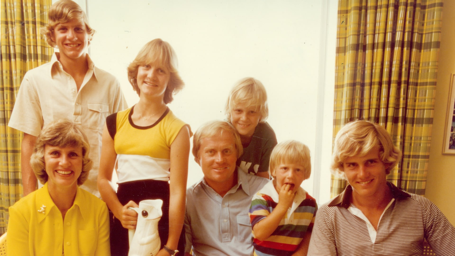 Jack Nicklaus and family