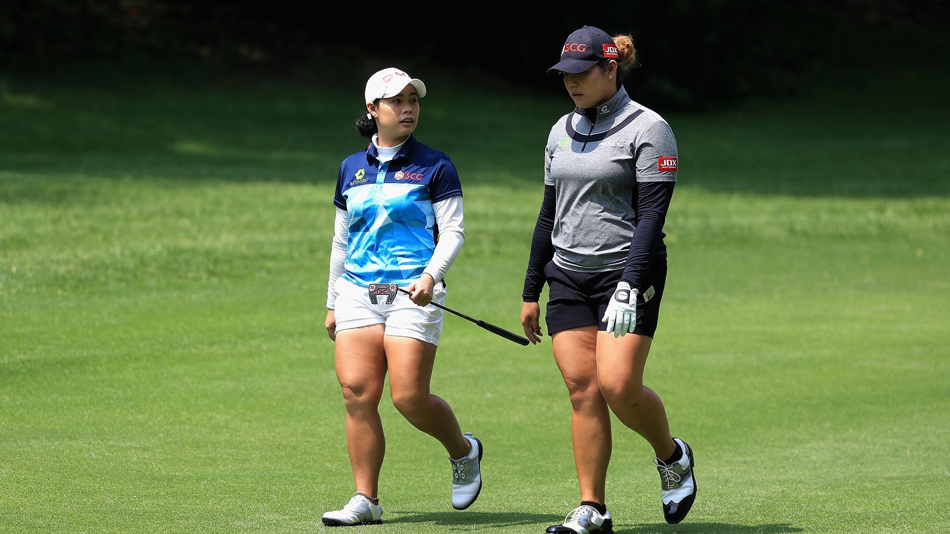 Ariya Jutanugarn Confident In Sister She Can Win This Year Golf Channel