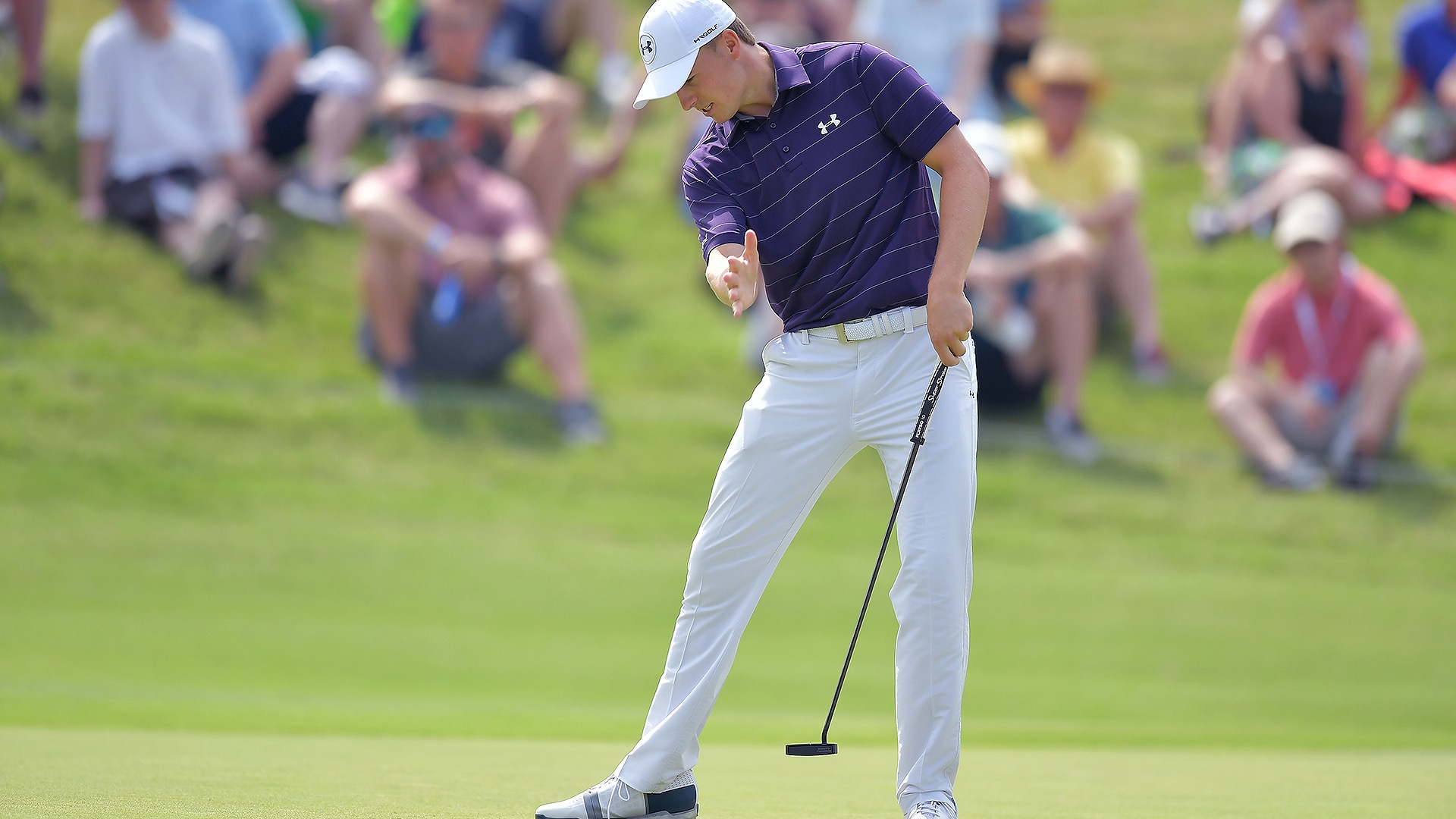 Jordan Spieth's putter switch drawing some attention | Golf Channel