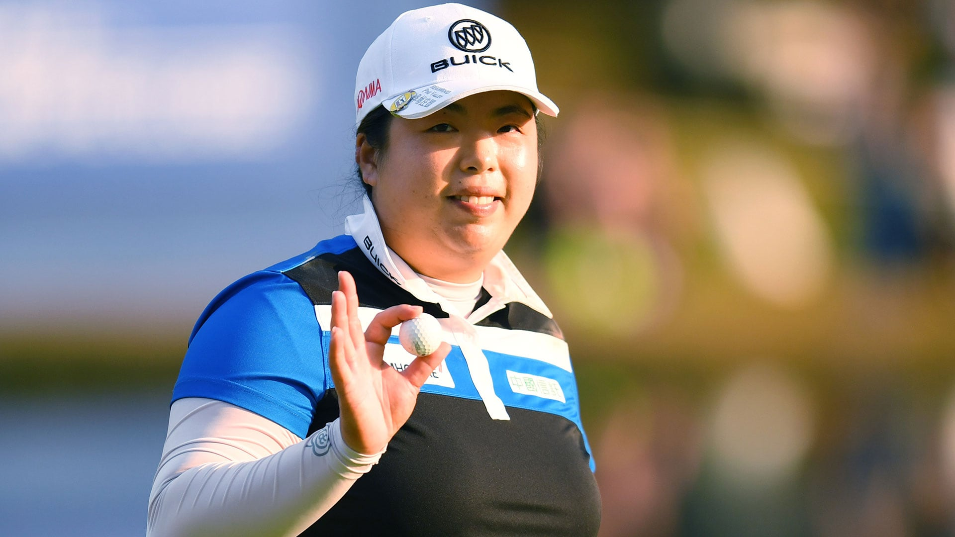 Shanshan Feng during Round 2 at the 2017 Japan Classic.