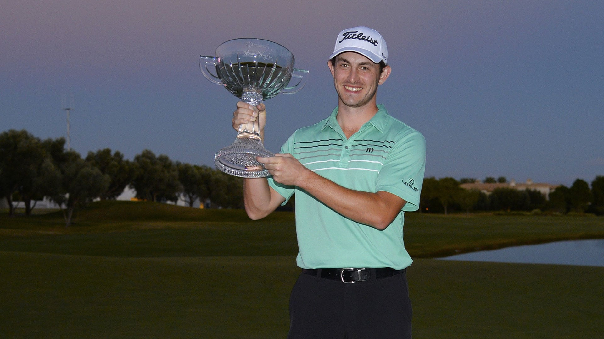 Patrick Cantlay during the final round of the Shriners Hospitals for Children Open.