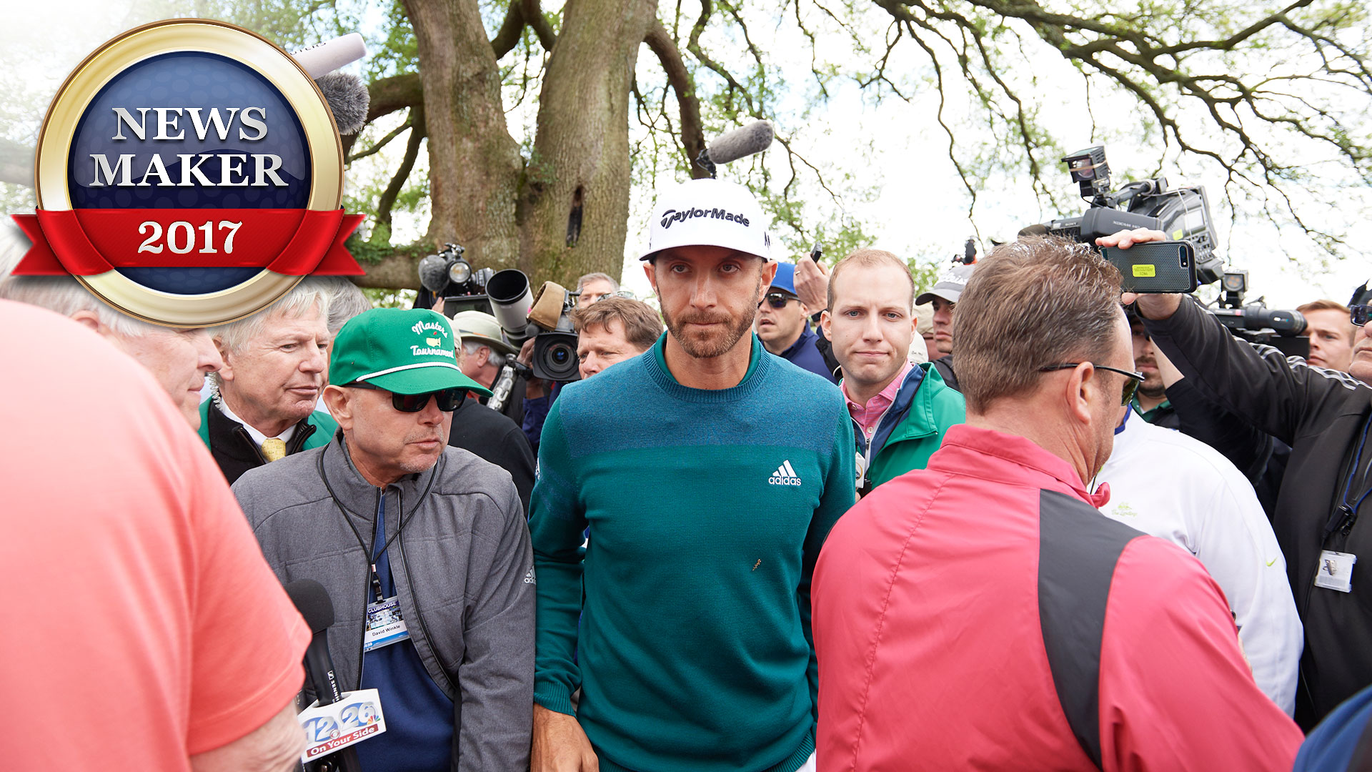 Newsmaker Of The Year No 6 Dustin Johnson Golf Channel