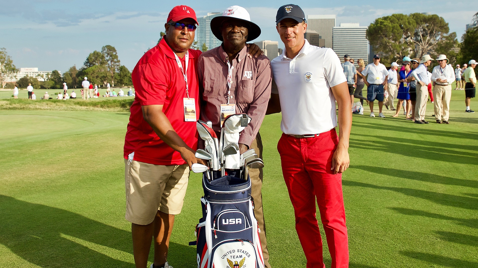 Jeff, Mack and Cameron Champ