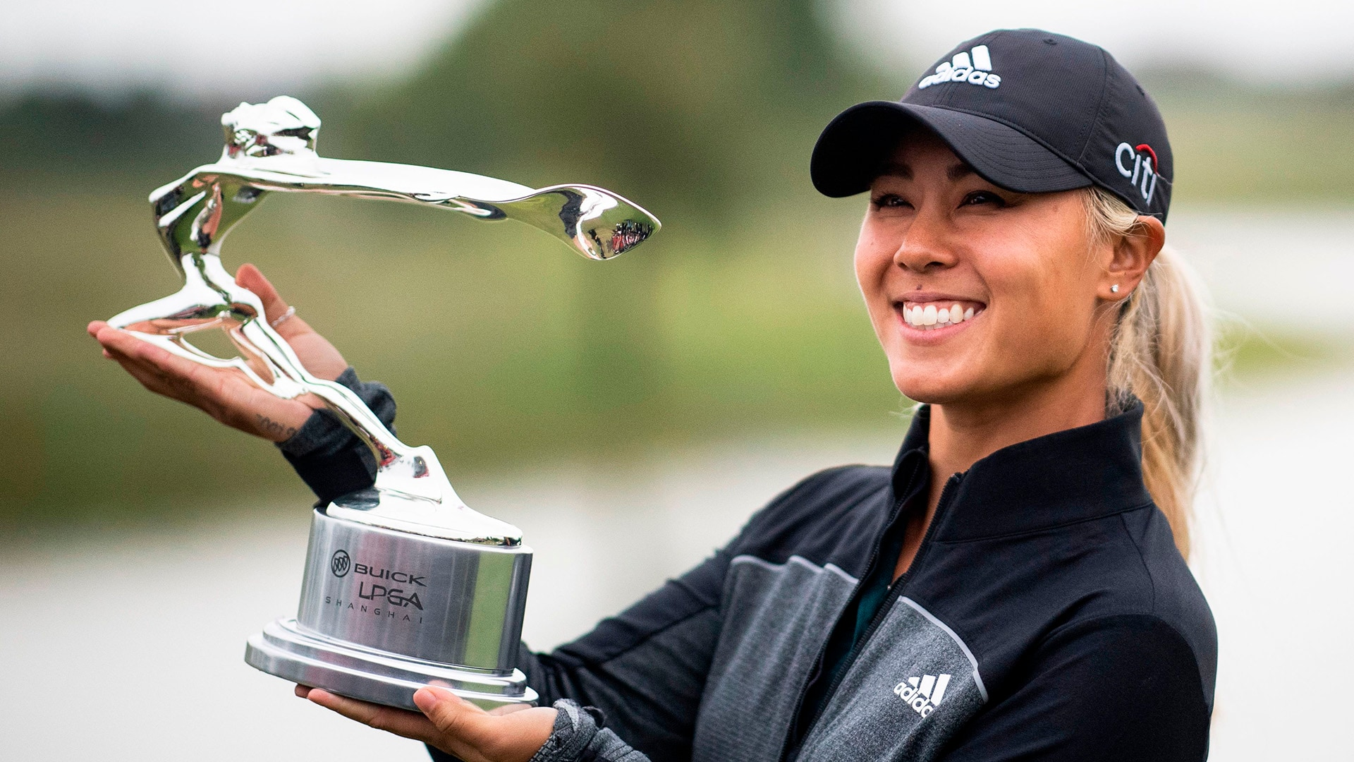 Danielle Kang at the 2018 Buick LPGA Shanghai