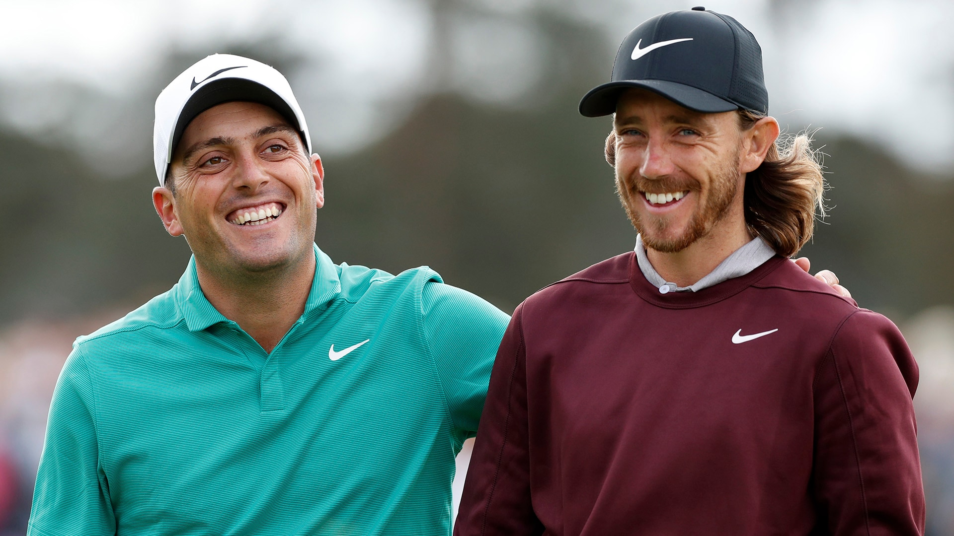 Francesco Molinari and Tommy Fleetwood at the 2018 British Masters