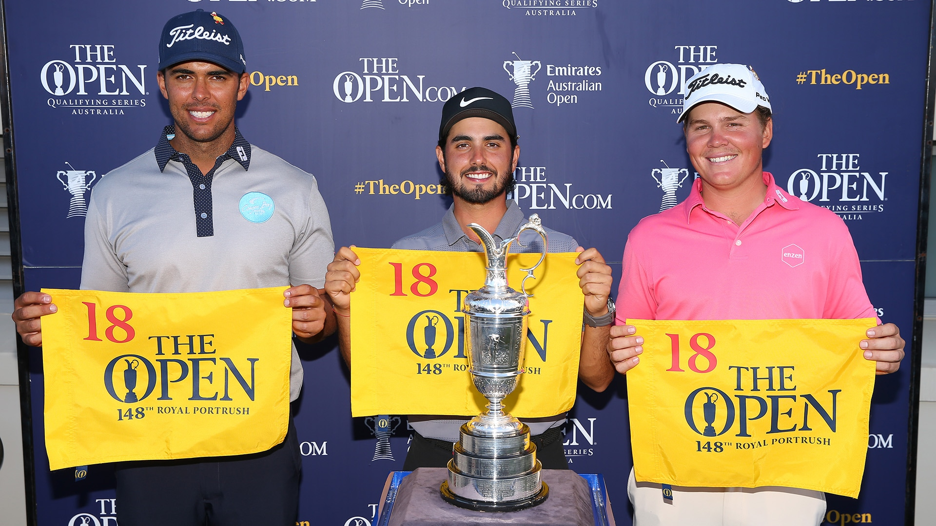 Abraham Ancer is among three qualifiers for the 2019 Open