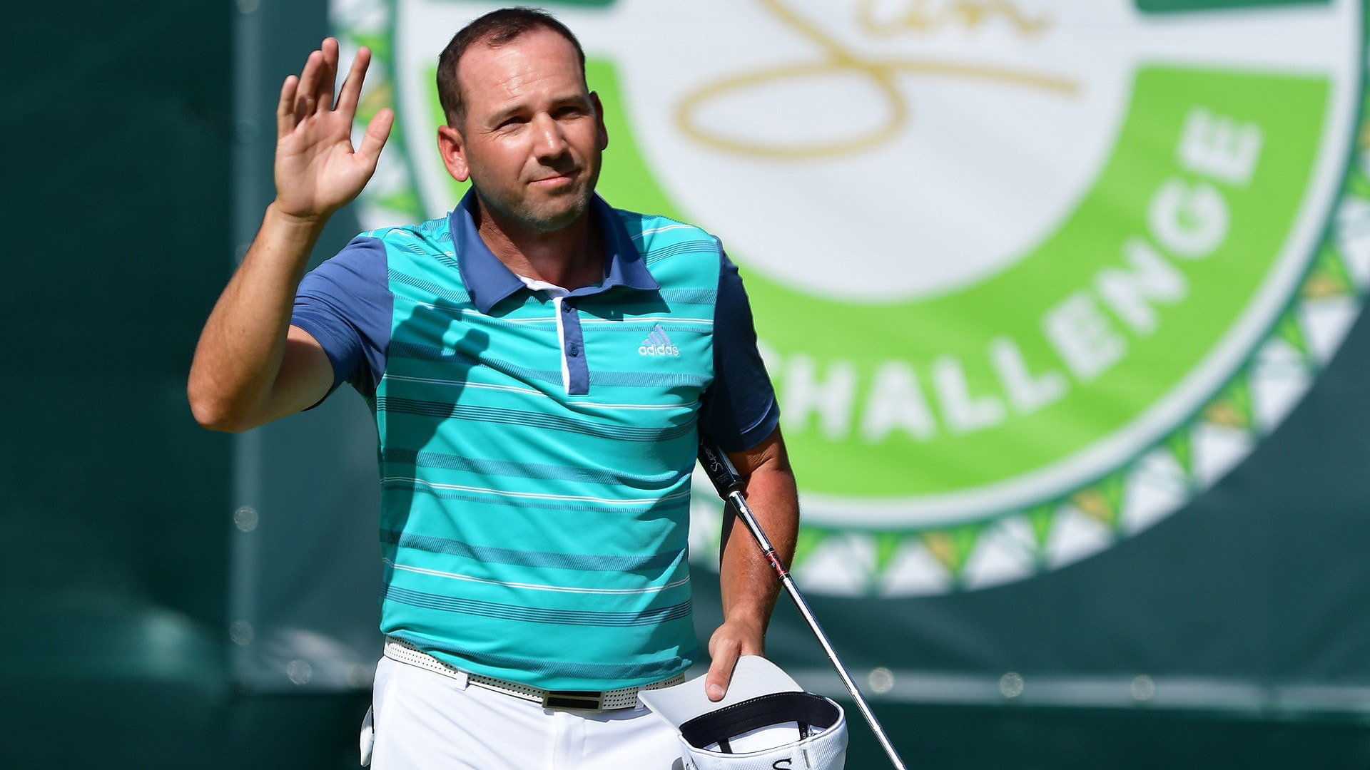 Sergio Garcia at the 2018 Nedbank Challenge