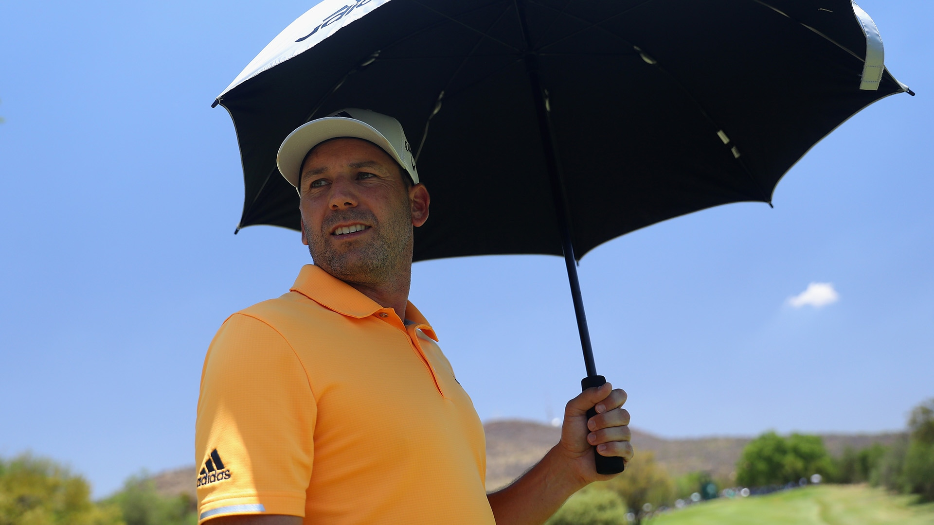 Sergio Garcia at the 2018 Nedbank Golf Challenge
