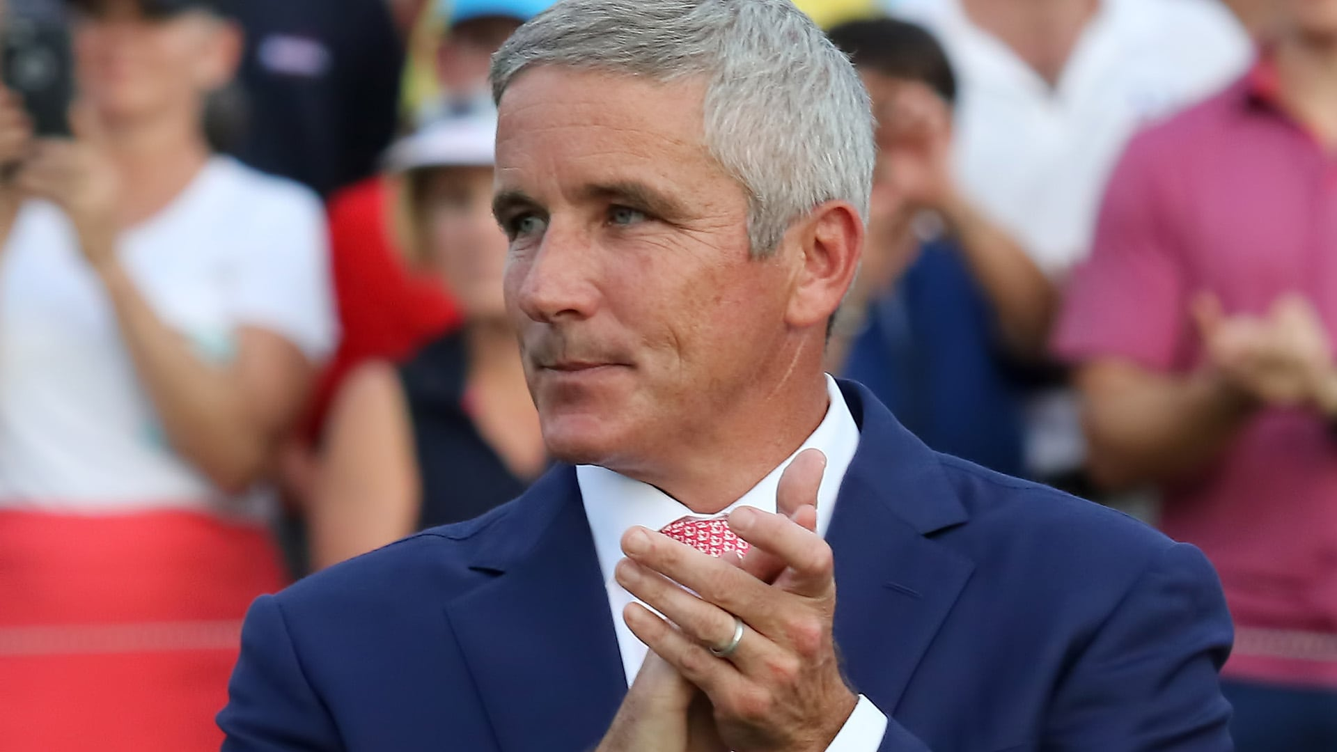 Jay Monahan at the 2018 Tour Championship