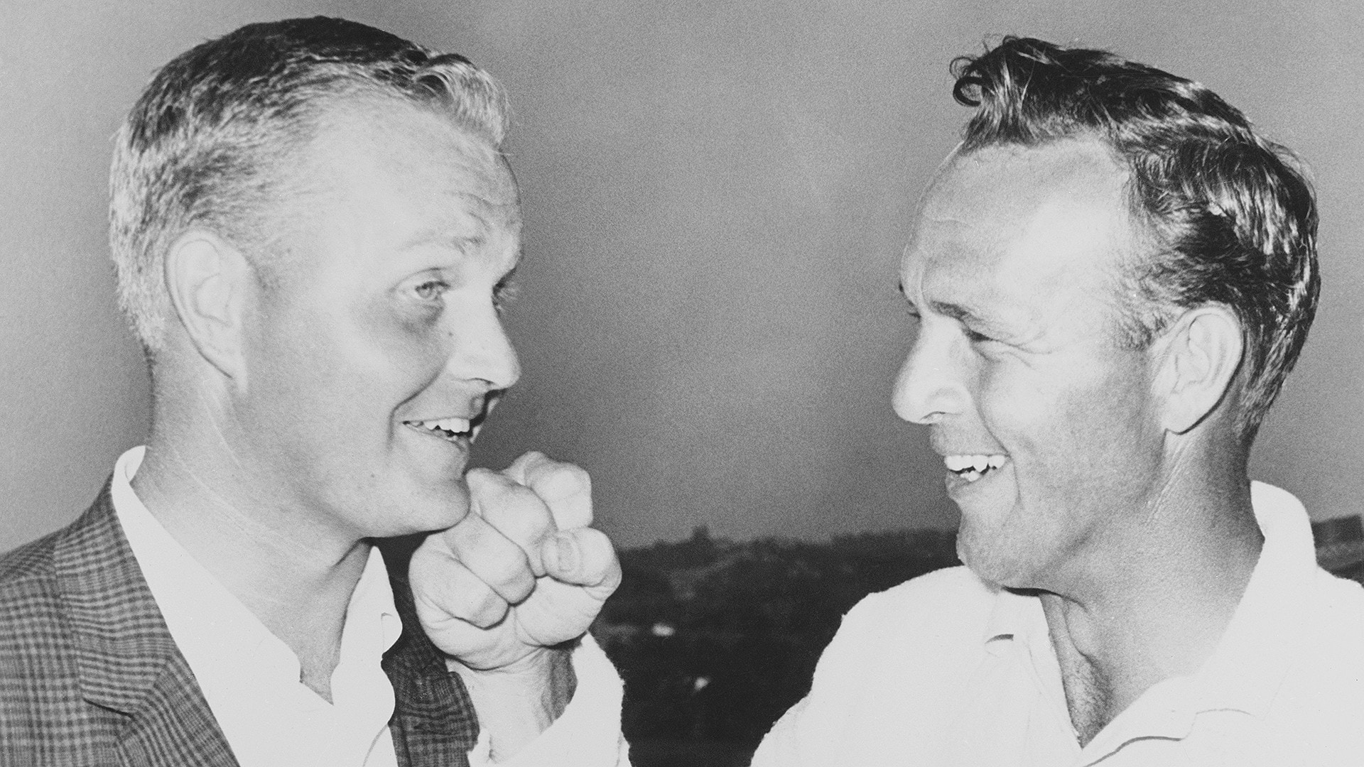 Jack Nicklaus, Arnold Palmer at 1962 U.S. Open