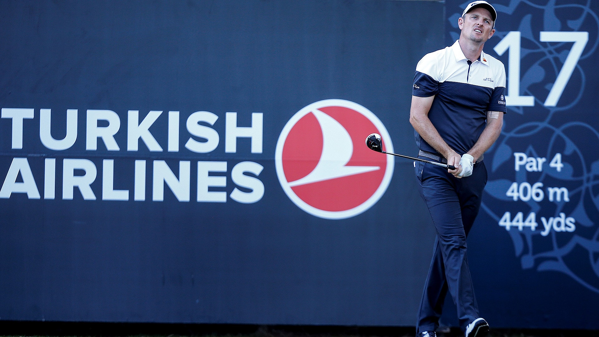 Justin Rose at 2018 Turkish Airlines Open