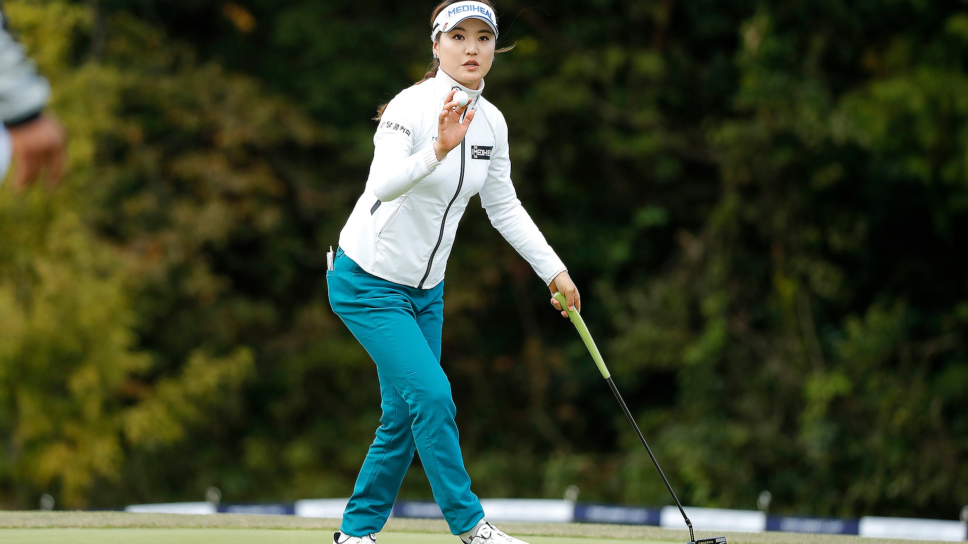 So Yeon Ryu during Round 1 of the TOTO Japan Classic