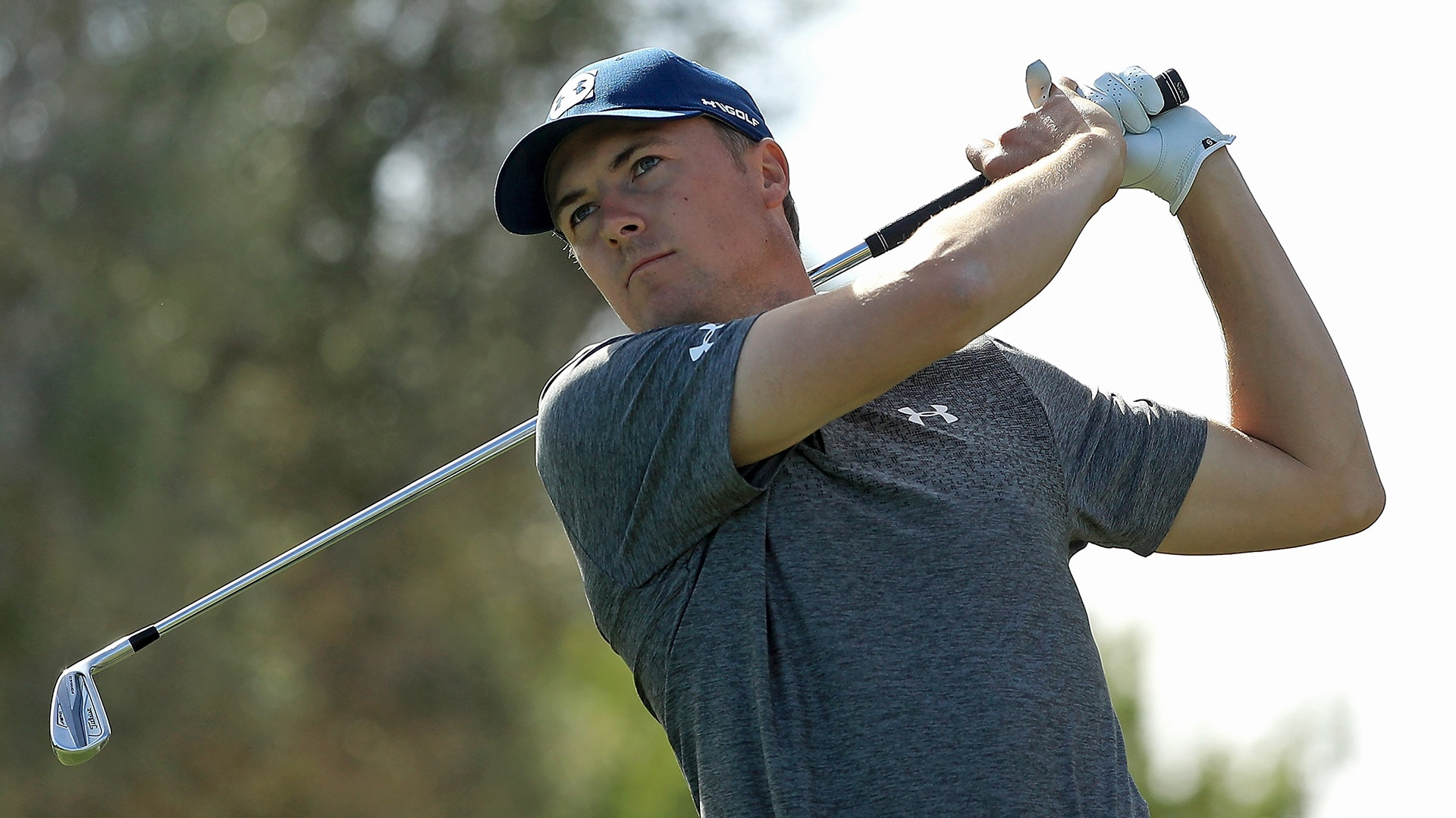 Jordan Spieth at the 2018 Shriners Hospitals for Children Open