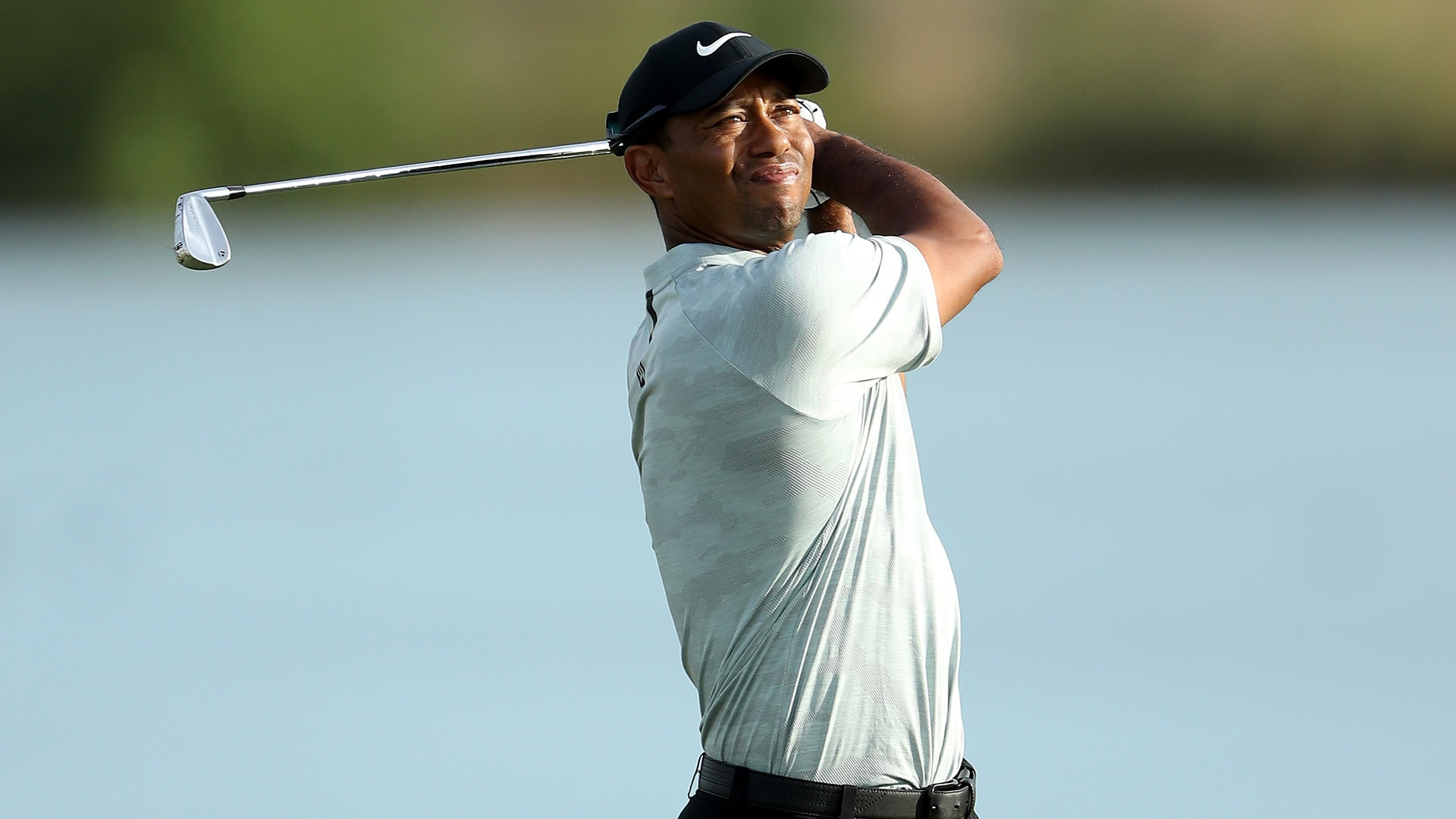 Tiger Woods at the 2018 Hero World Challenge