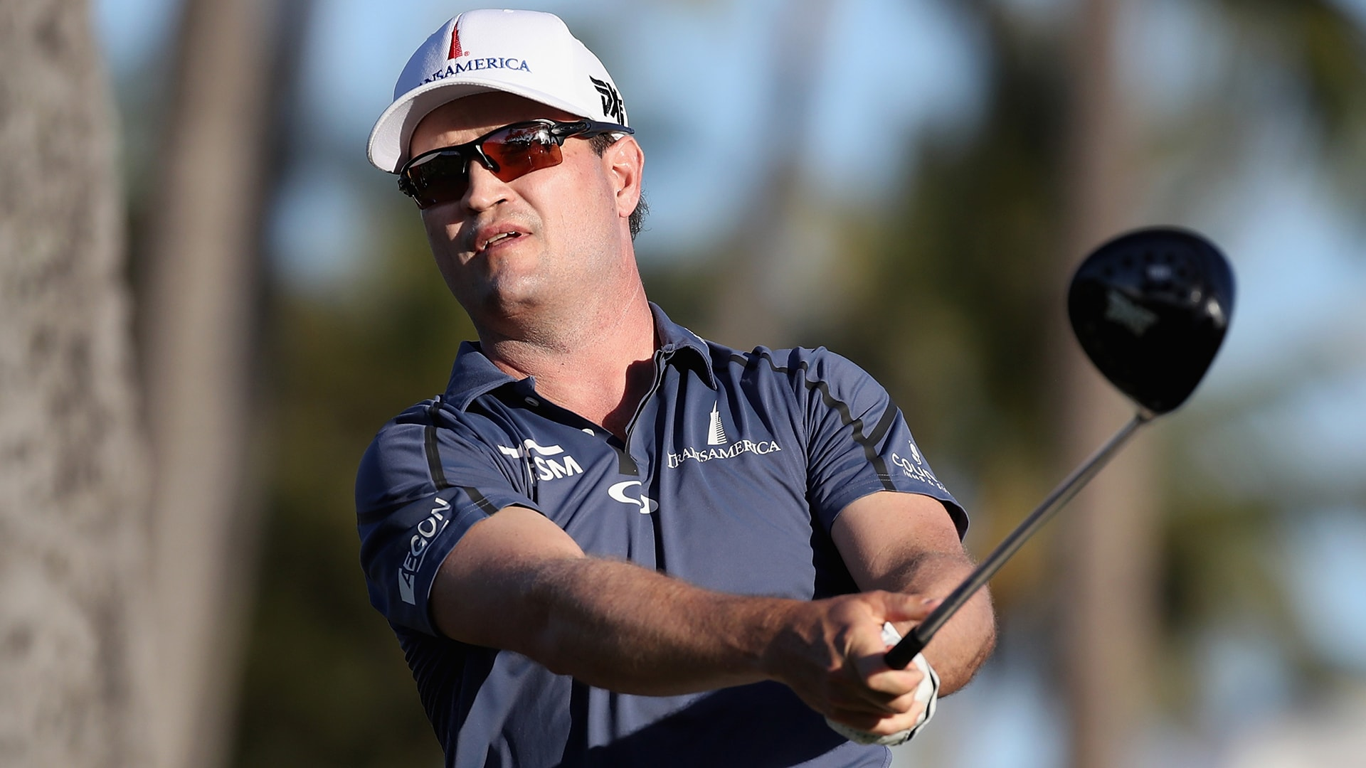 Zach Johnson at the 2018 Sony Open.