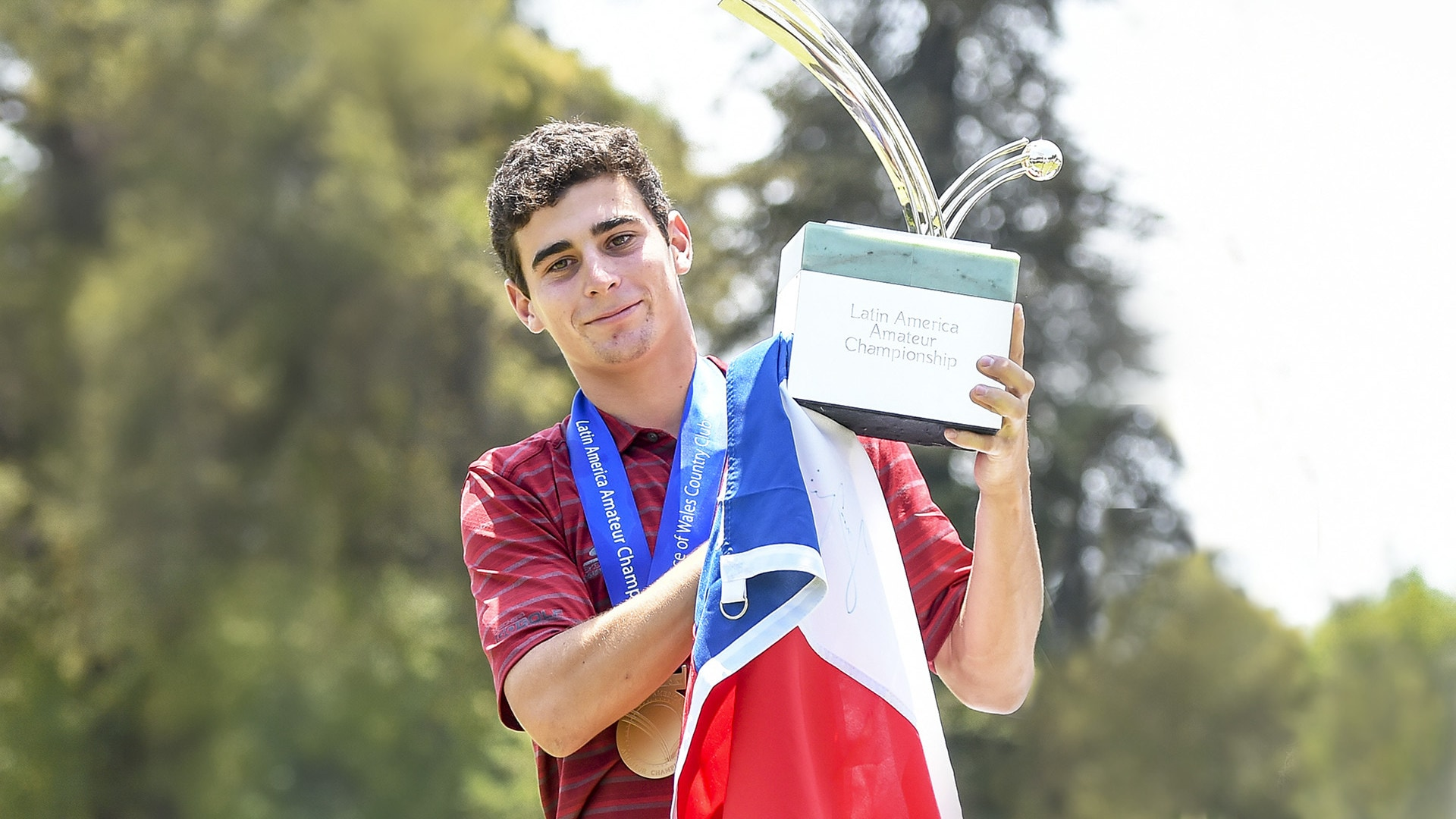 Joaquin Niemann at the 2018 Latin America Amateur Championship