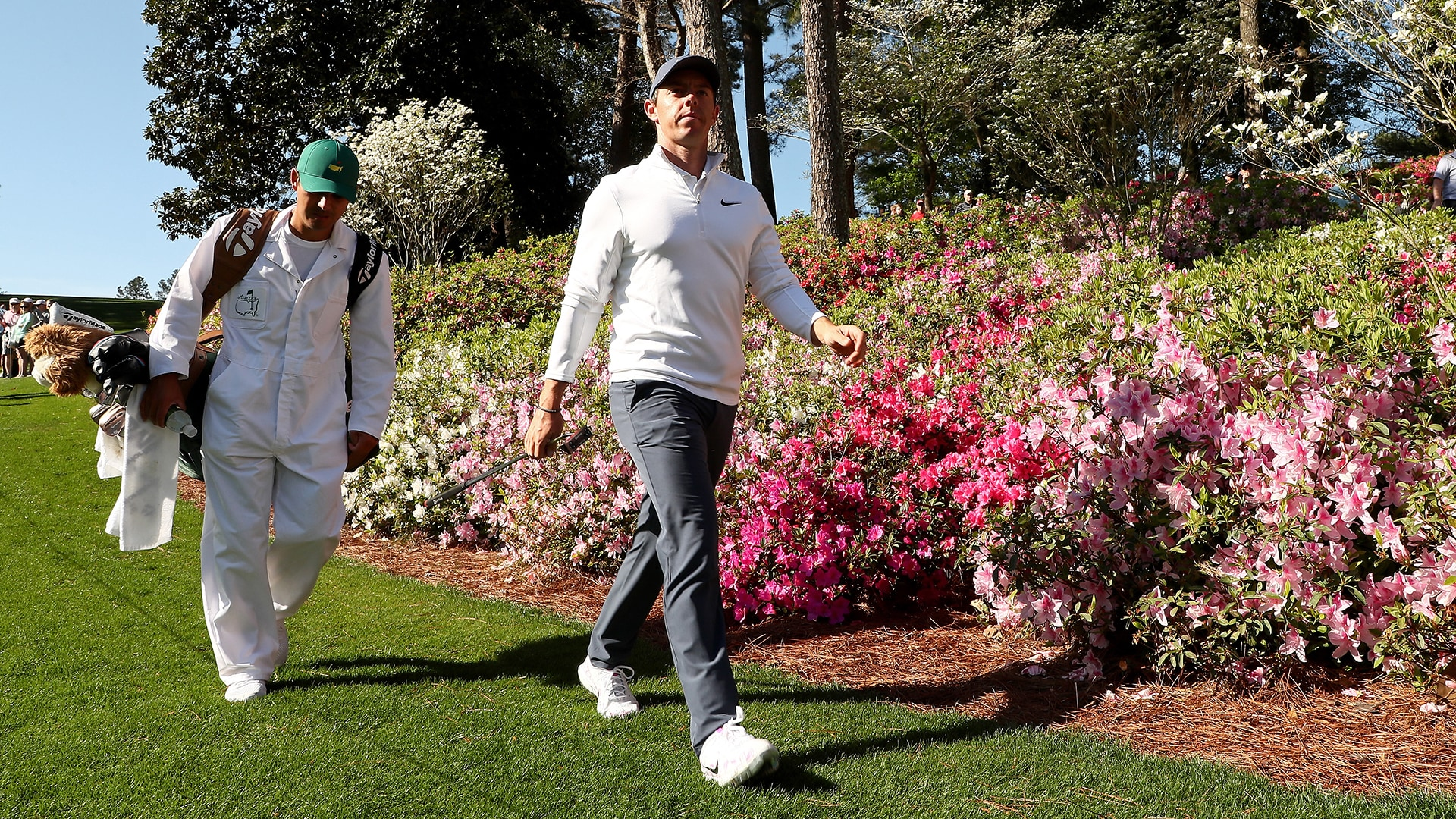 Rory McIlroy at the 2018 Masters.