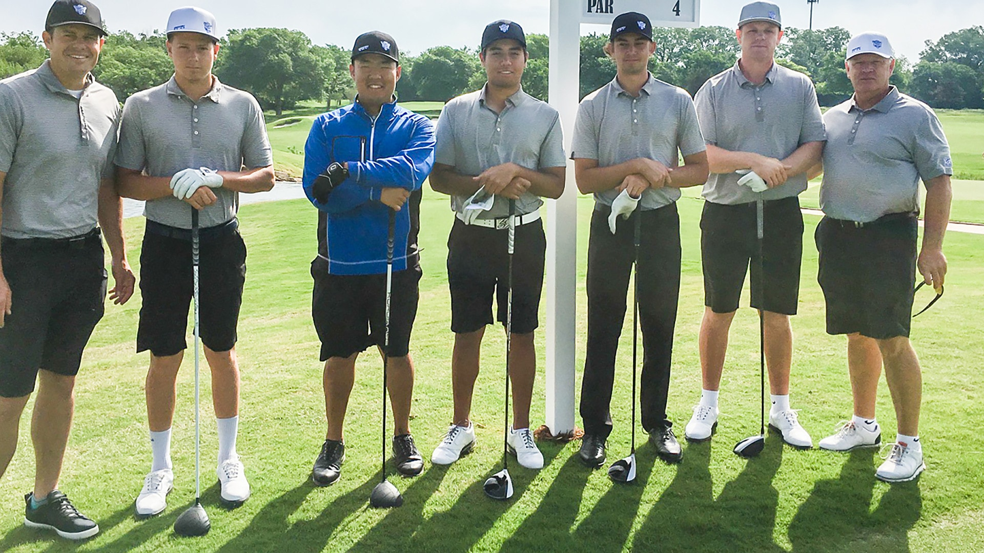 BYU men's golf team