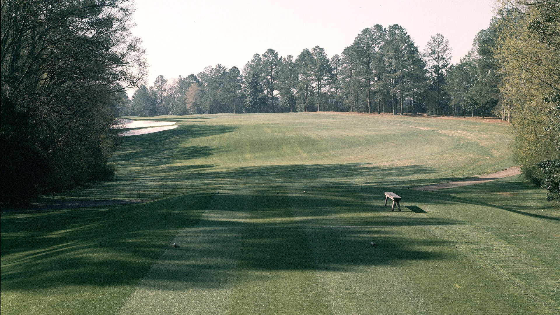 Augusta National's fifth hole from the 1978 Masters