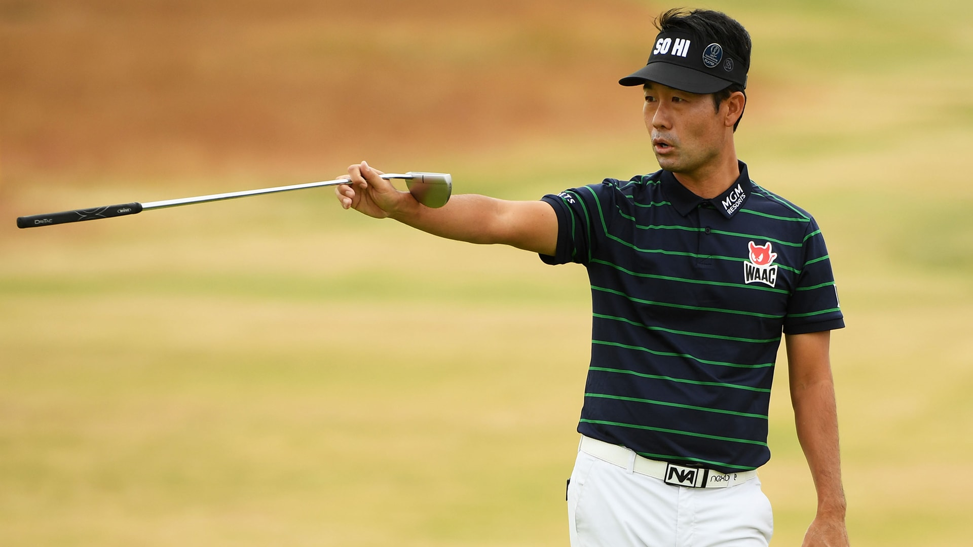 Kevin Na at the 2018 Open Championship.