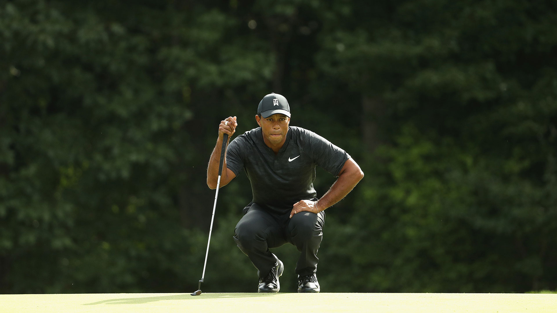 tiger tracker postscript  at least woods  72  putted well