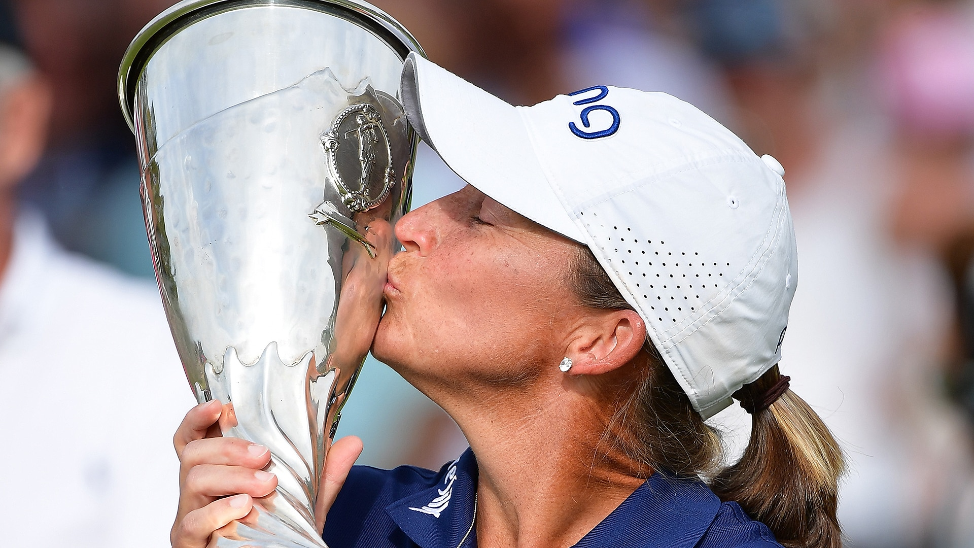 Angela Stanford returns home to share Evian celebration