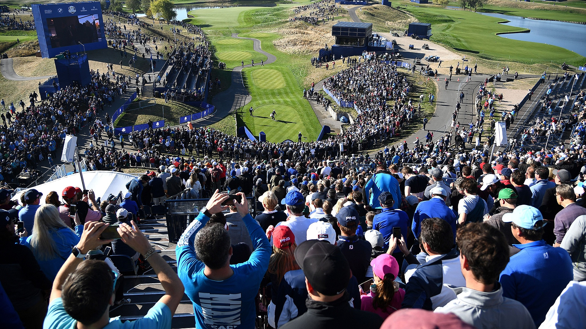 2018 Ryder Cup: First tee - especially this week - unlike ...