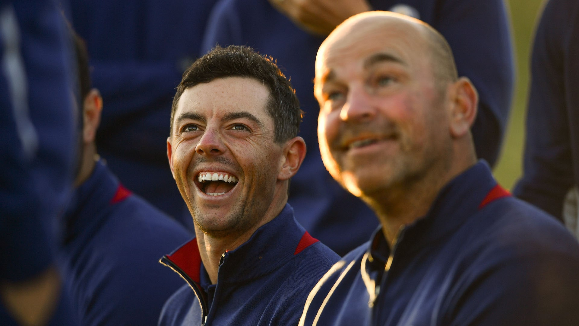 Rory McIlroy and Thomas Bjorn