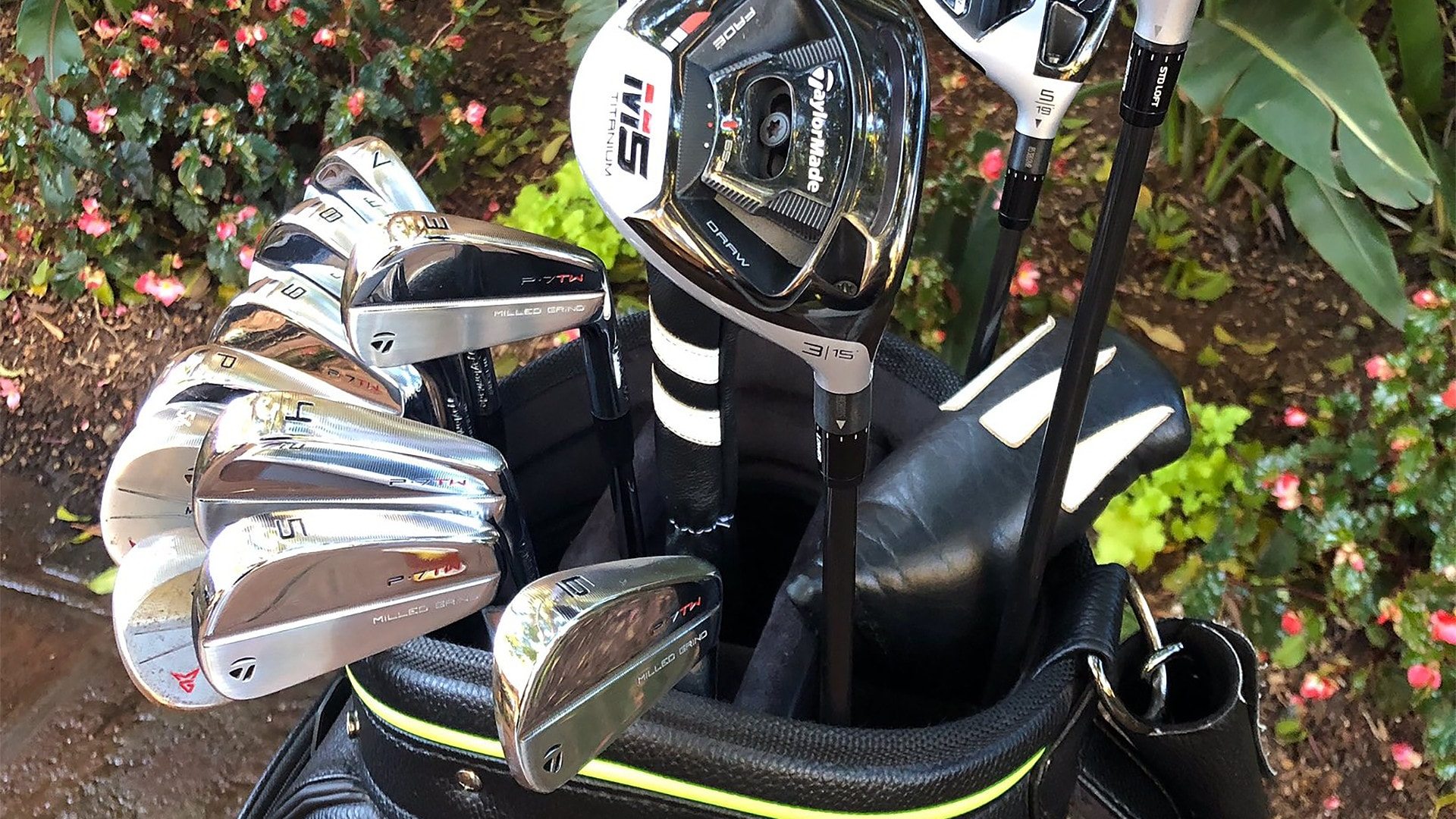 Tiger Woods shows off new clubs for new season   Golf Channel