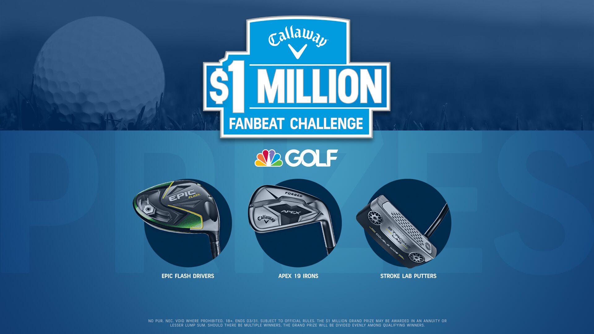 Callaway's $1 Million FanBeat Challenge 2019 | Golf Channel