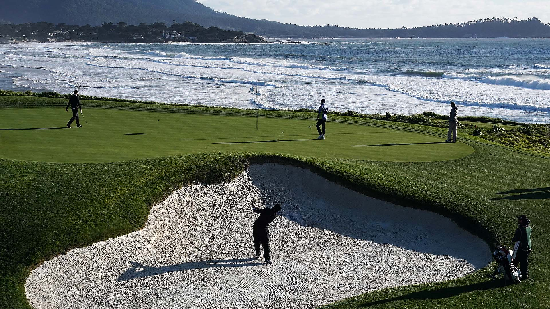 weather could be a factor all week at at u0026t pebble beach