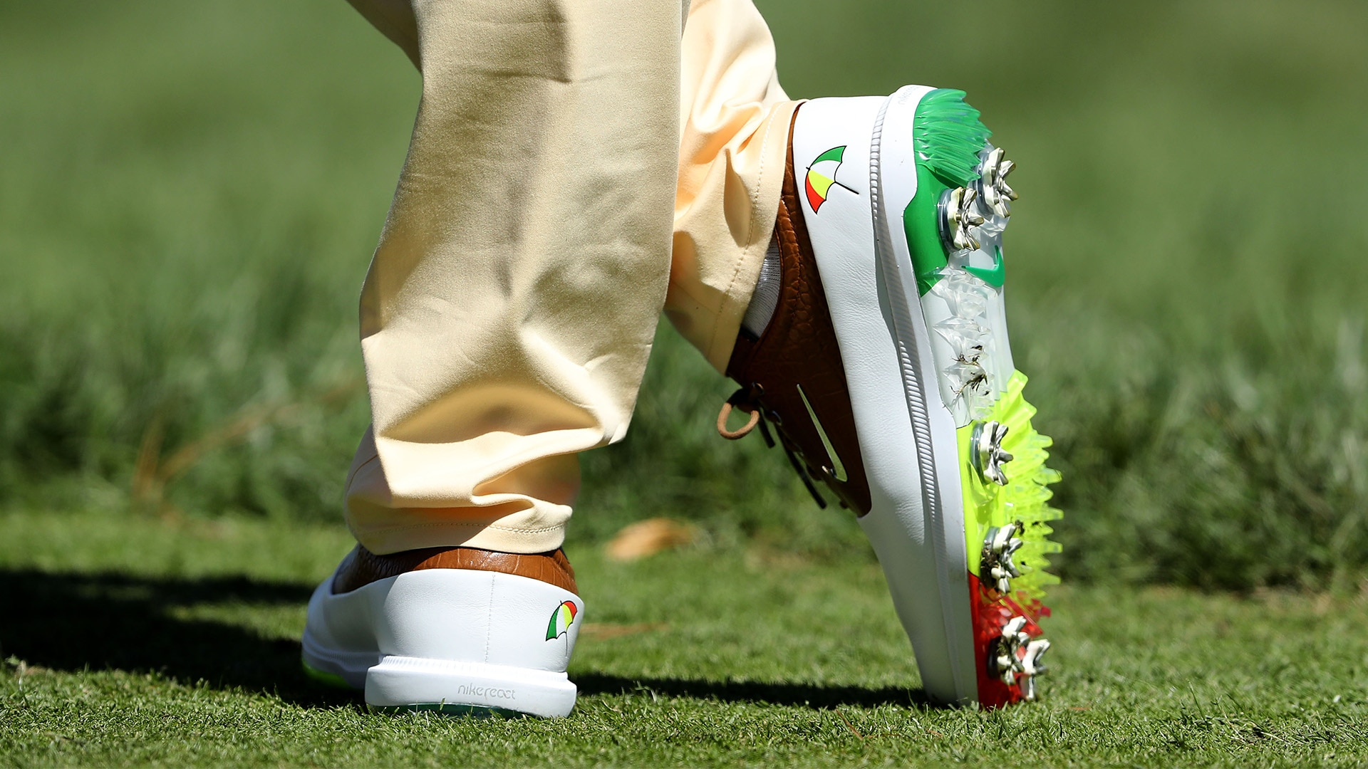 Rory McIlroy's Arnie-inspired shoes