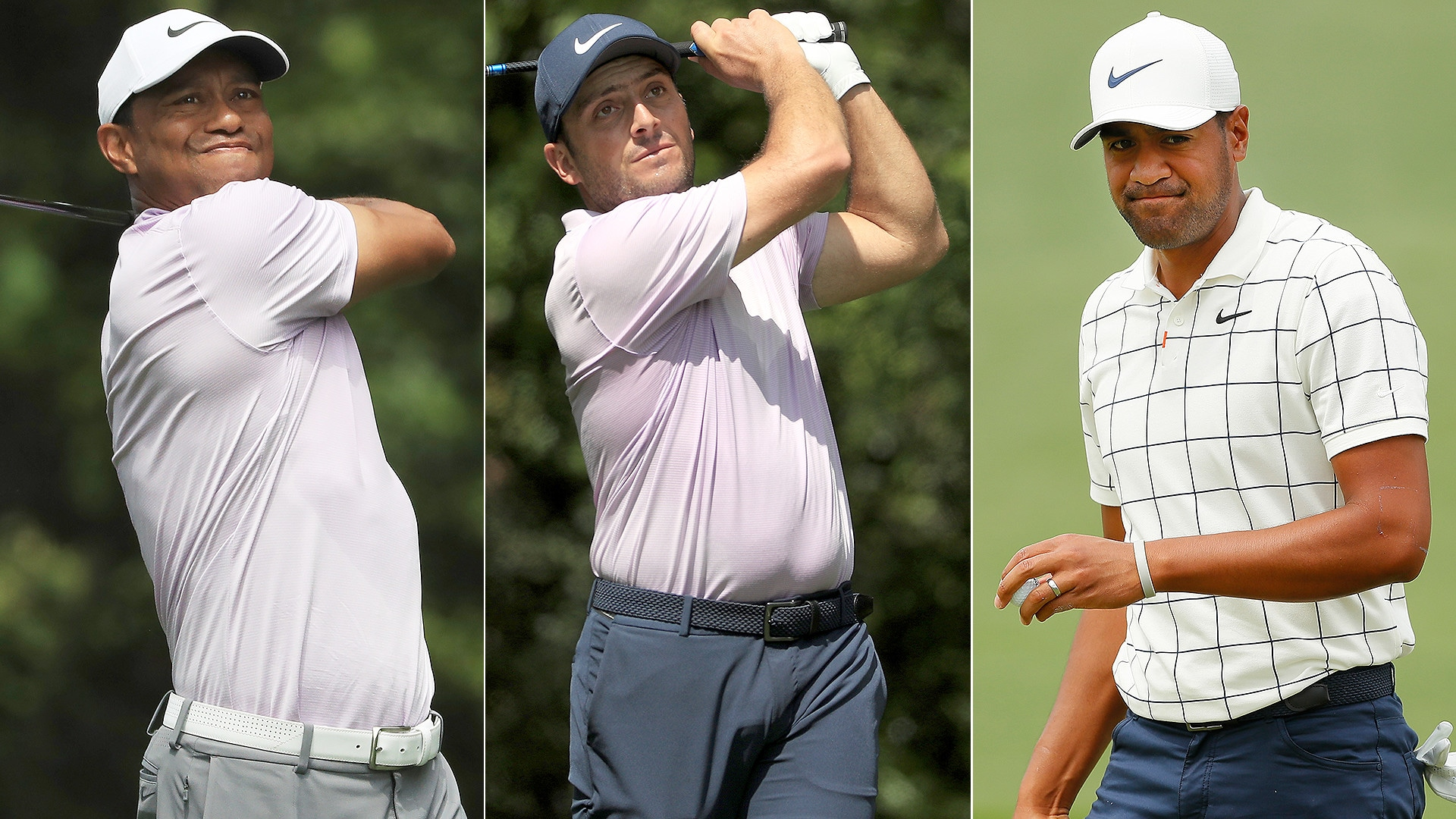 francesco molinari leads tiger woods  tony finau by two at