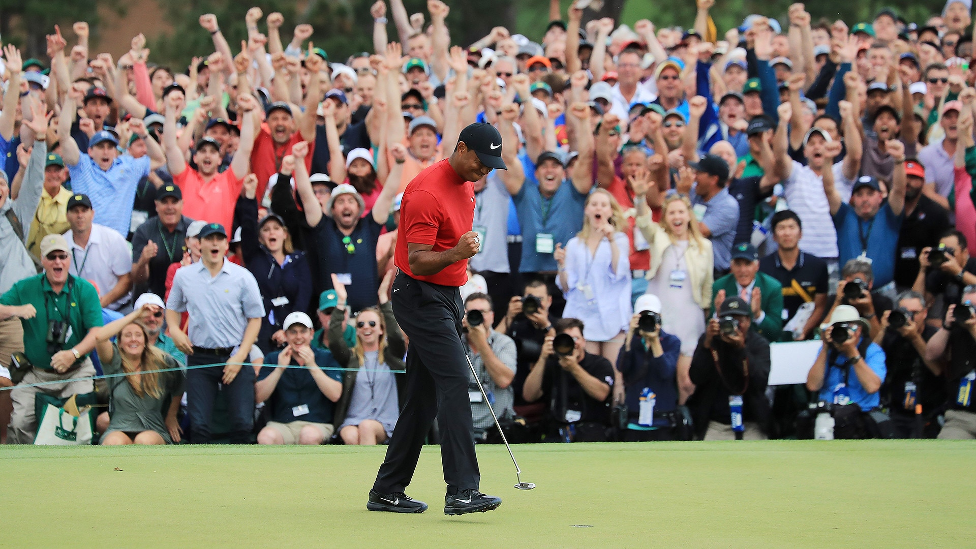 masters tournament purse payout  tiger woods takes home  2