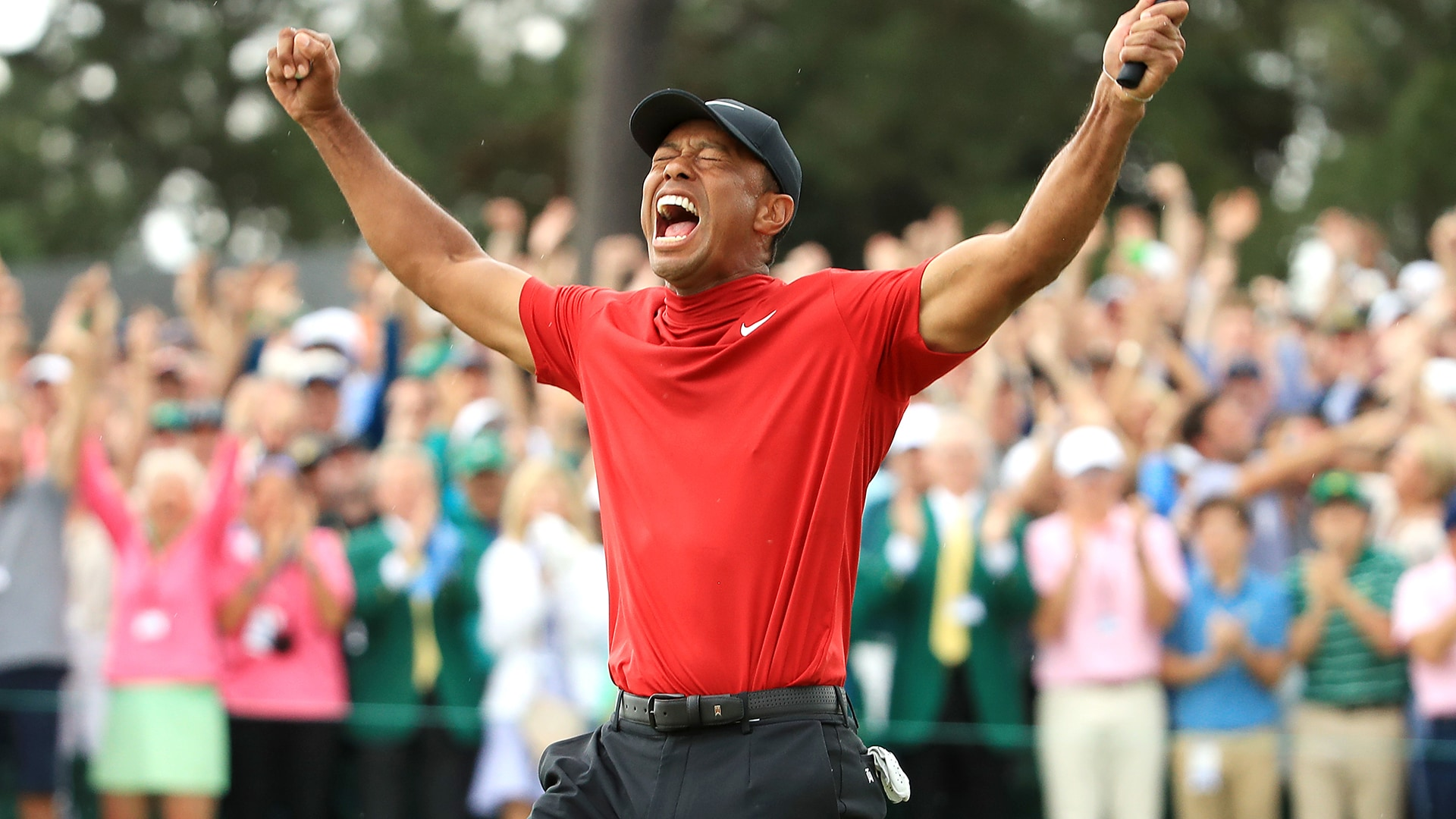tiger woods wins 15th major championship at 2019 masters