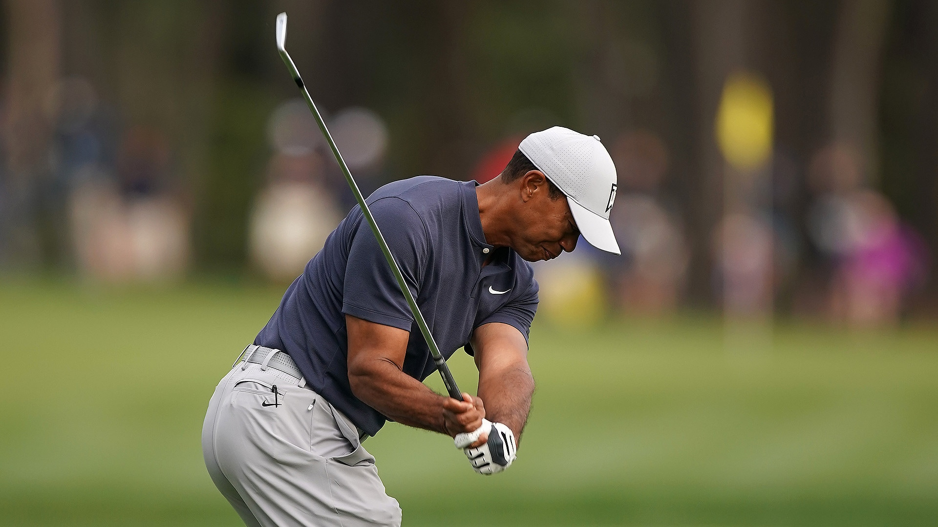 Swing Sequence Tiger S First Coach Analyzes Woods Iron