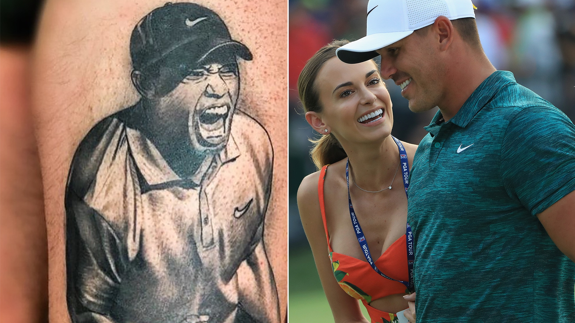 2283abe62 The Social: Tiger Woods tributes and Brooks Koepka, Jena Sims vacation |  Golf Channel
