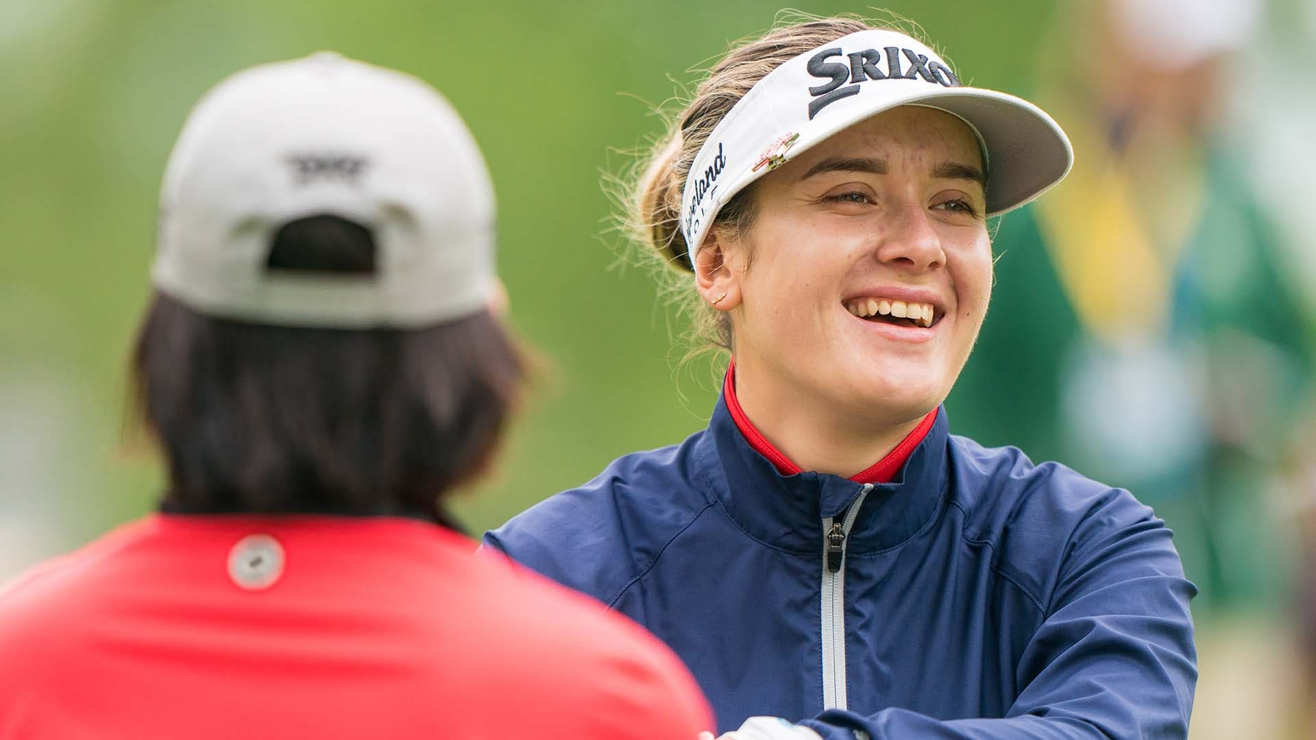 7b77f98549cf68 Hannah Green (69) looks to Karrie Webb as mentor as she vies for ...