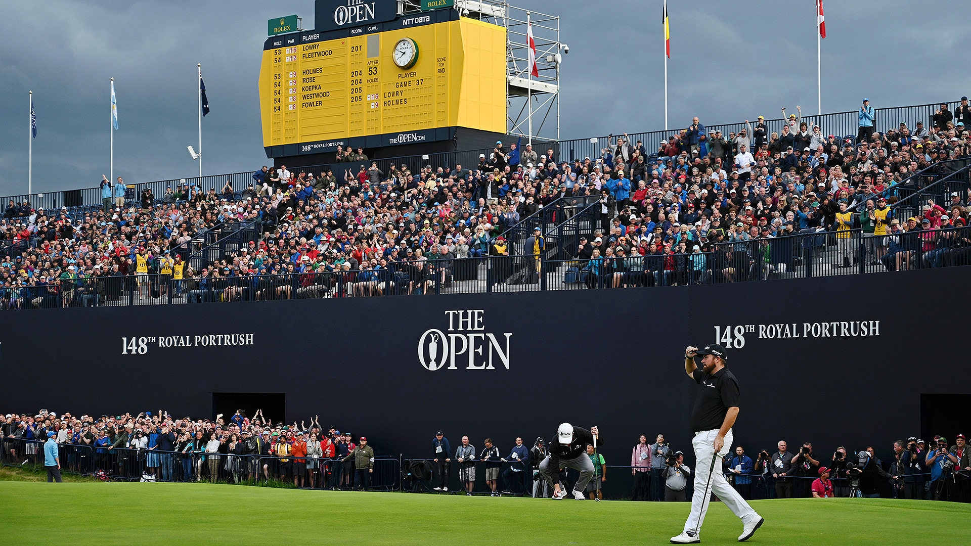 2019 british open  an angry mother nature ready to wreak