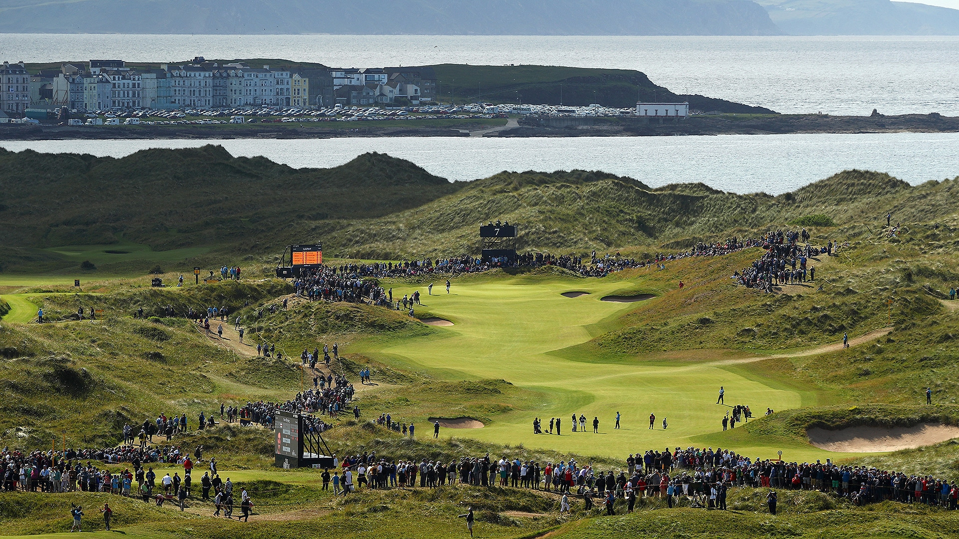 2019 british open  sunday tee times moved up because of