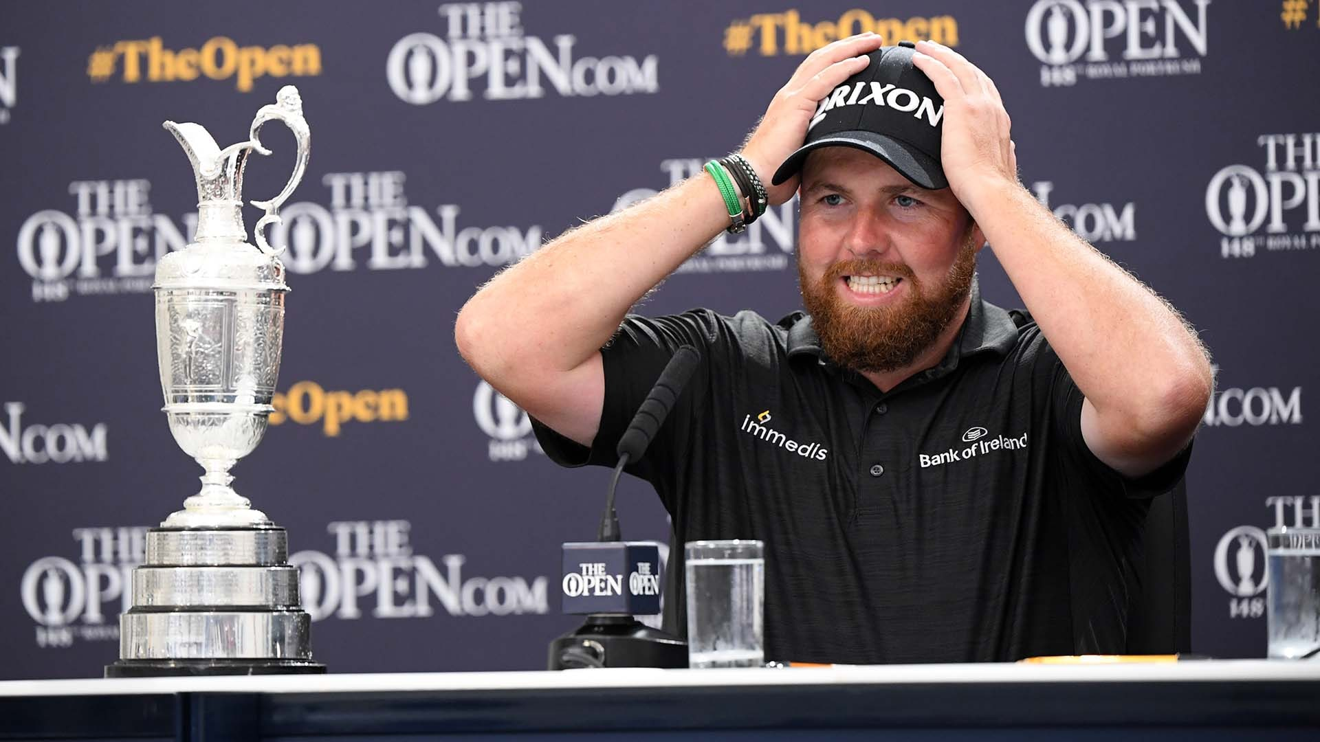 2019 british open purse payout  shane lowry collects
