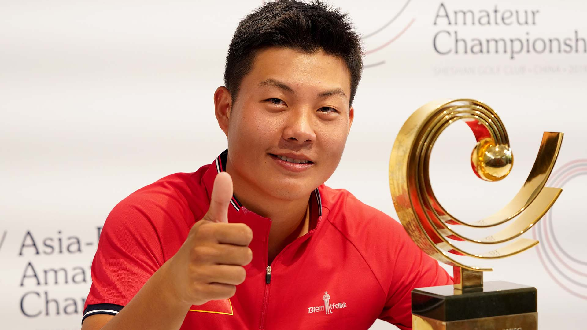 Yuxin Lin Wins Asia Pacific Amateur In Playoff Earns Second Trip