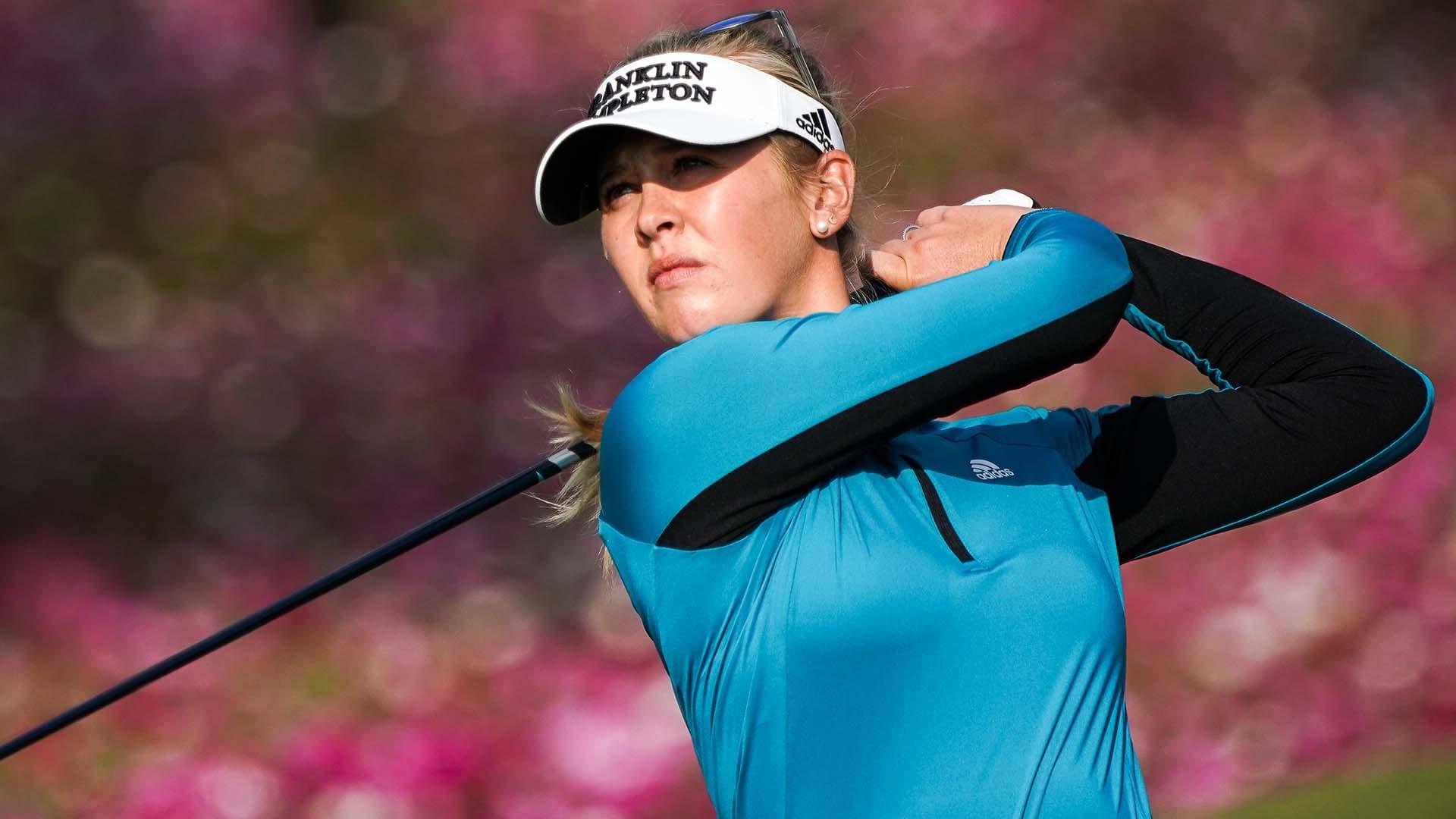 Jessica Korda (66) vaults into Shanghai lead; Brooke Henderson (73) slips |  Golf Channel