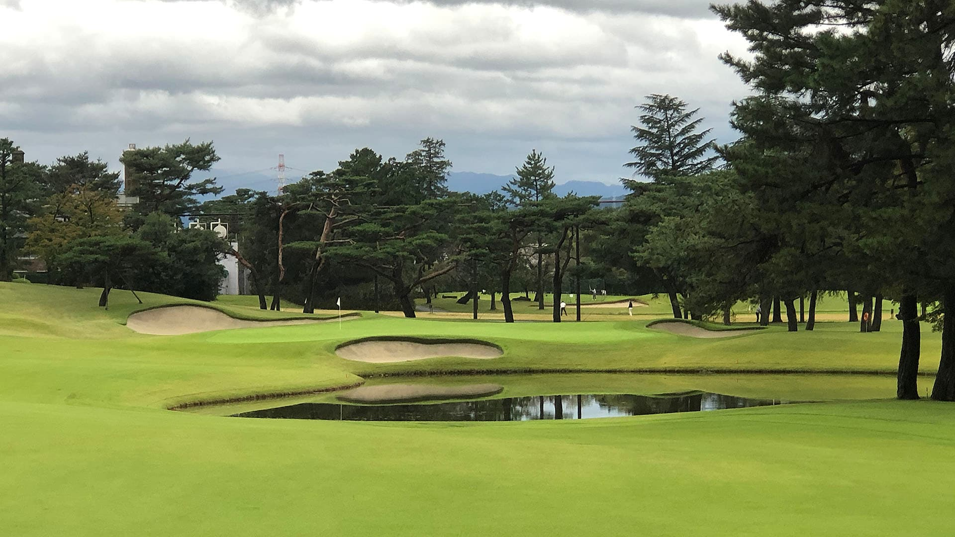 18th hole at Kasumigaseki Country Club