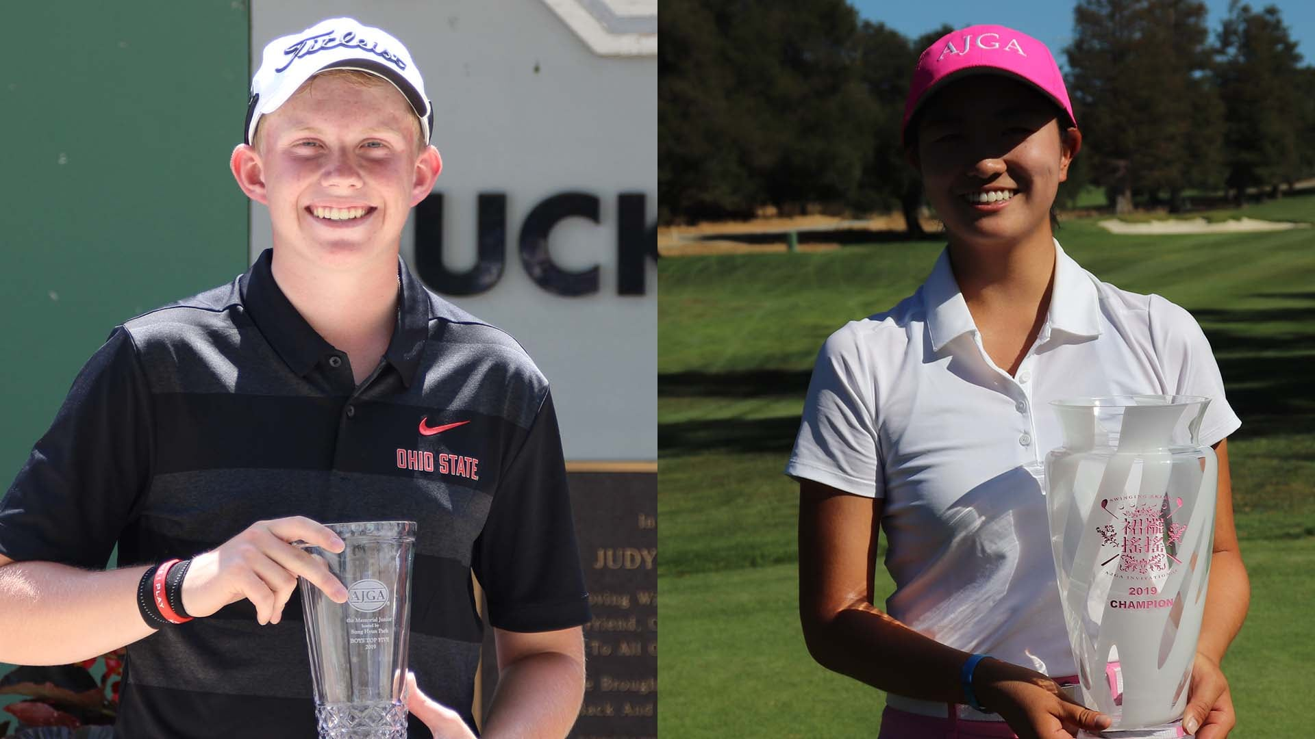 Players Of Year Maxwell Moldovan Rose Zhang Headline Ajga All Americans Golf Channel