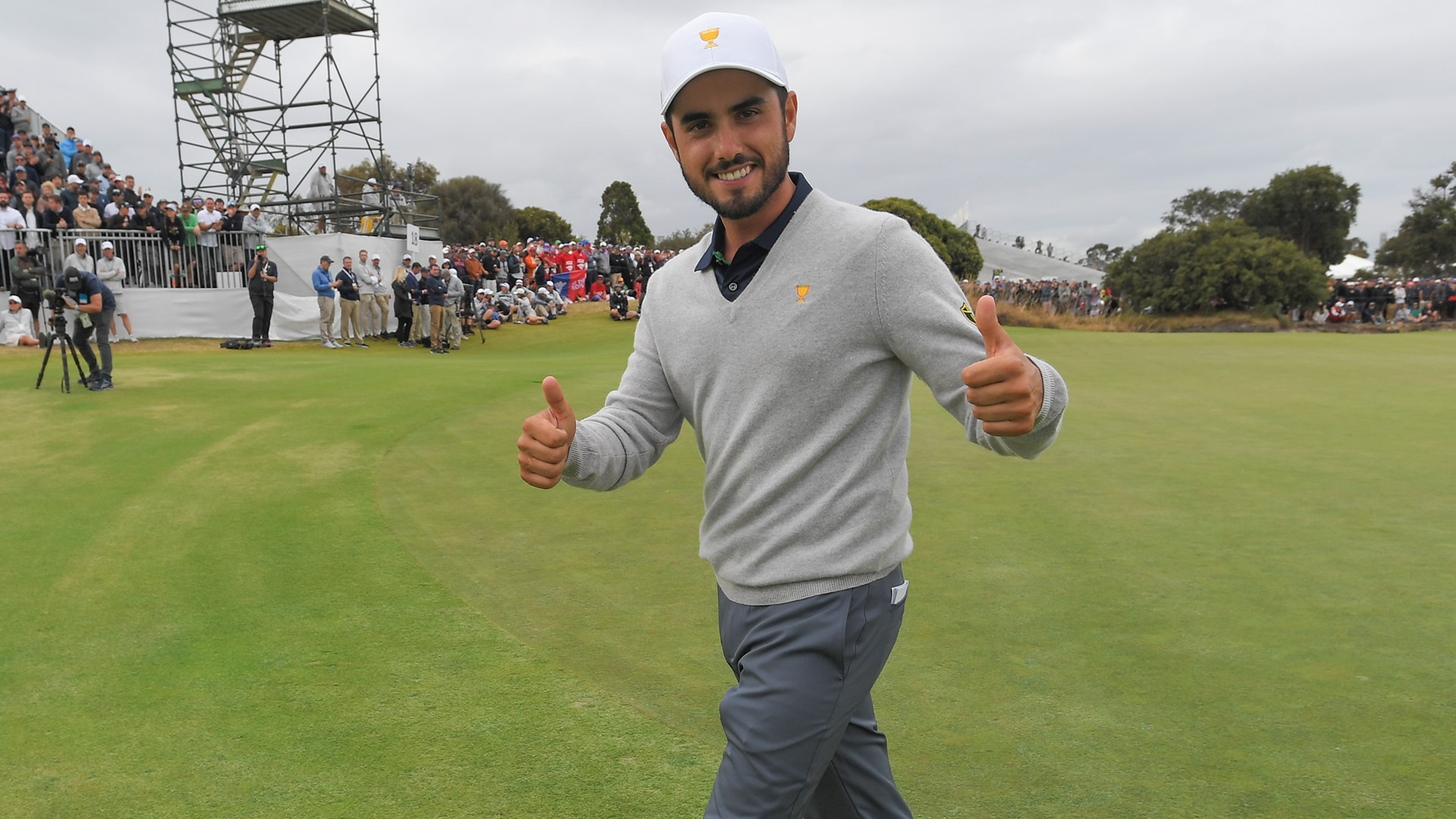 2019 Presidents Cup: Abraham Ancer gets wish to play Tiger Woods ...